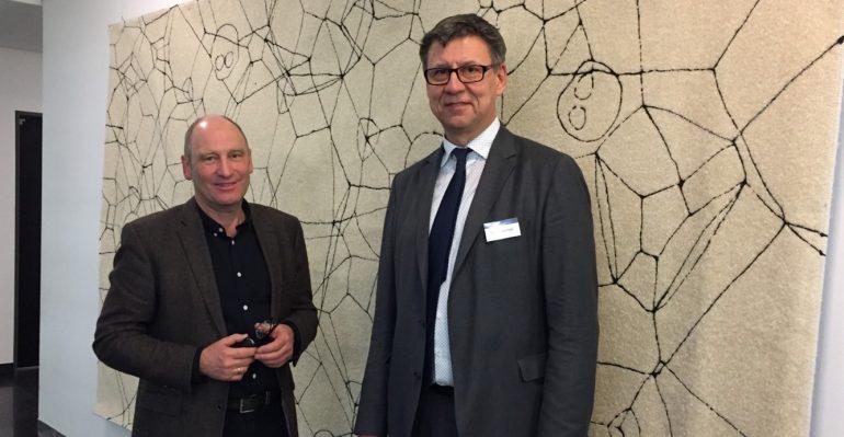 Vernissage AN und Peter Riek 23.03.2018